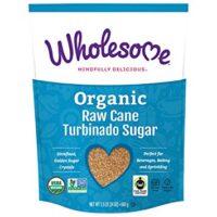 Wholesome Fair Trade Organic Raw Cane Turbinado Sugar