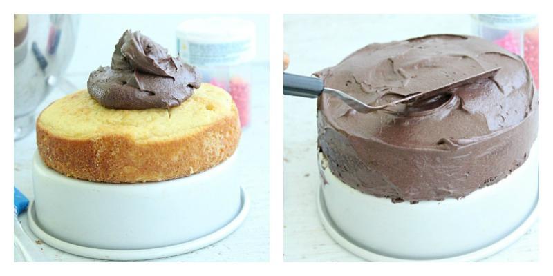 Yellow Cake For Two #cake #yellowcake #dessert #dessertfortwo