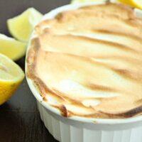 Lemon Meringue Pie for One | Big Green House