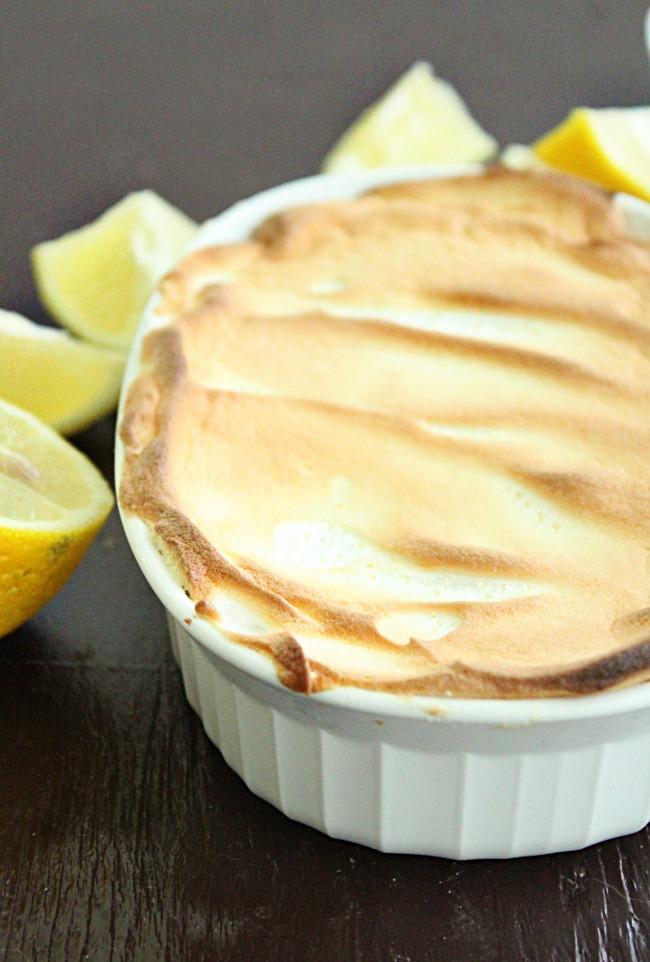 Lemon Meringue Pie for One   Big Green House