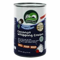 Natures Charm Coconut Whipping Cream 400ml