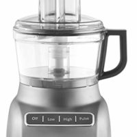 KitchenAid KFP0711CU Food Processor, 7 Cup, Contour Silver