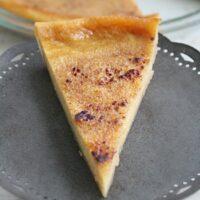 Crustless Custard Pie | Big Green House