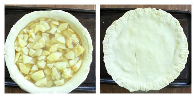 Puff Pastry Apple Pie : Big Green House #puffpastry #apple #pie #dessert #applepie