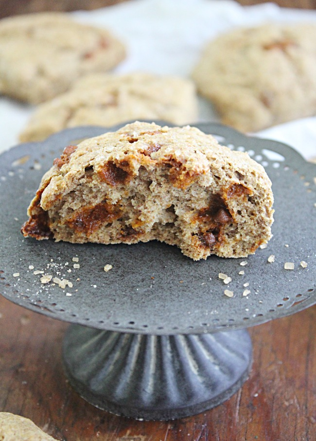 Whole Wheat Cinnamon Scones : Big Green House #cinnamon #wholewheat #scones