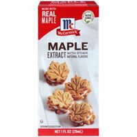 McCormick Maple Extract With Other Natural Flavors, 1 Fl Oz (Pack of 1)