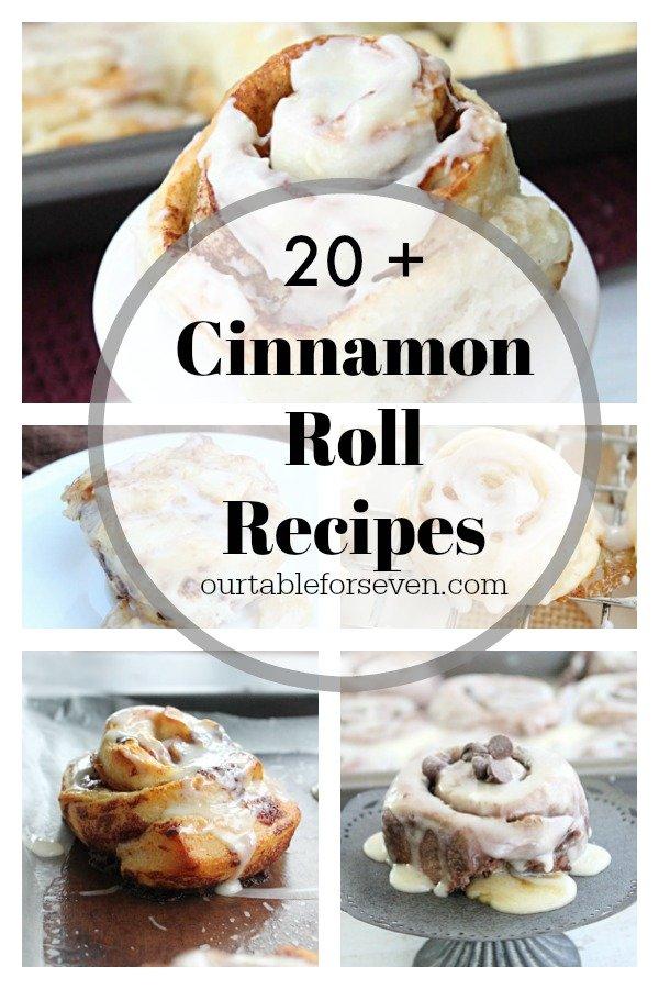 Over 20 Cinnamon Roll Recipes