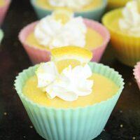 Mini Lemon Pies- Big Green House #lemon #pies #mini #dessert #lemonpie