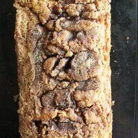 Cinnamon Sugar Quick Bread- Big Green House #biggreenhouseblog #cinnamonsugar #quickbread