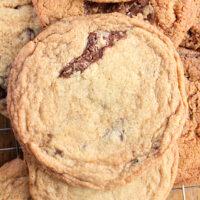 Pan Banging Chocolate Chip Cookies- Big Green House #biggreenhouseblog #panbangingchocolatechipcookies #chocolatechip #cookies #chocolatechipcookies