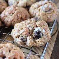 Crispy Rice Oatmeal Butterscotch Chocolate Chip Cookies- Big Green House #biggreenhouseblog #chocolatechip #oatmeal #crispyricecereal #cookies #butterscotch #dessert