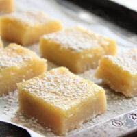 Lemon Buttermilk Bars- Big Green House