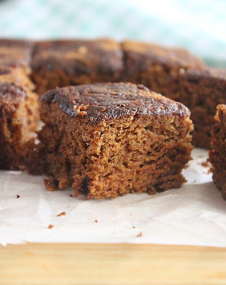 Snickerdoodle Snack Cake- No Eggs, Refined Sugar or Milk