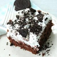 Oreo Poke Cake- Big Green House