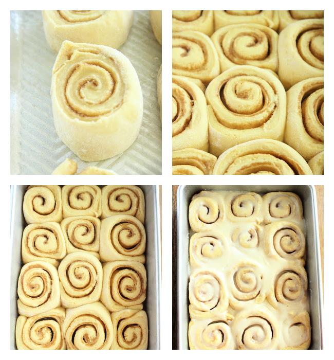 Cake Mix Cinnamon Rolls- Big Green House