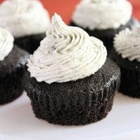 Three Ingredient Oreo Cupcakes- Big Green House