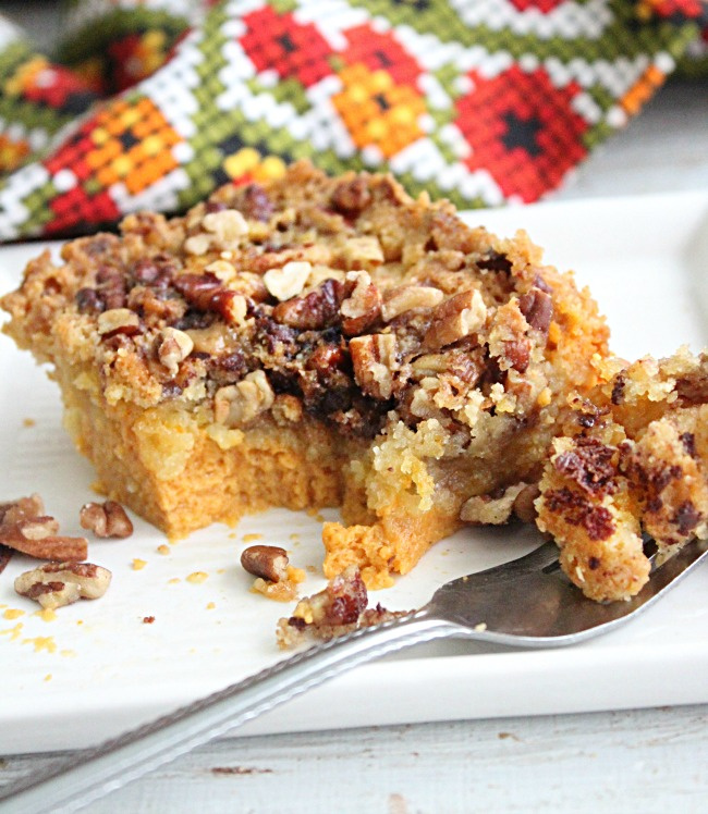 Pumpkin Pecan Toffee Bars- Big Green House