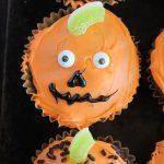 Jack o Lantern Brownie Cupcakes- Big Green House
